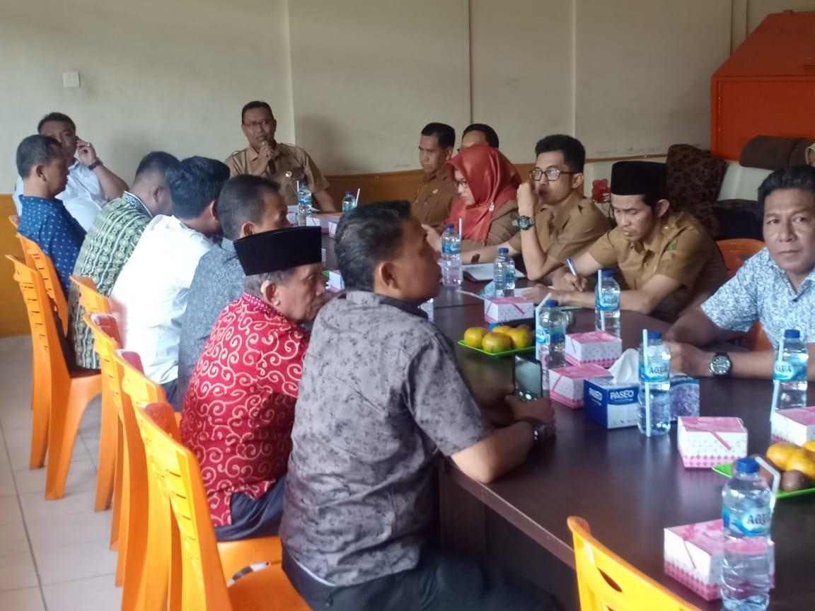 DLHK Inhil Gelar Pertemuan Bersama DPRD Inhu Terkait Limbah Pabrik PT Bayas Biofuels