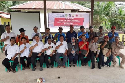 PERAN Kabupaten Inhil Ingin Tempuling Bebas Karlahut