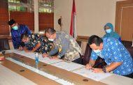 Penandatangan Dokumen Nota Kesepakatan Pembangunan Dan Pengoperasian SPKUA Tahun 2021